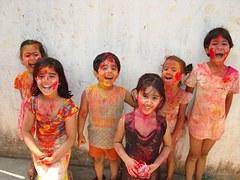 painted kids
