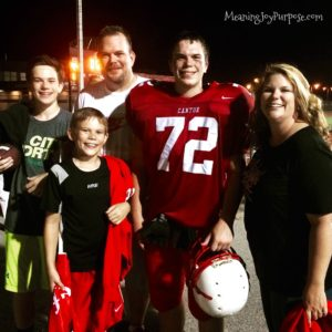 family pic-football game