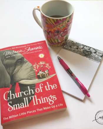 Church of the Small Things flat lay