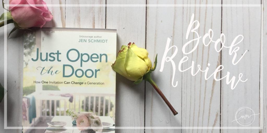 Just Open the Door Book Review